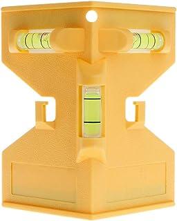 BIlinli Cilindro Nivel magnético Tubería Burbuja de Alcohol para instalación de pilares de Madera de tubería