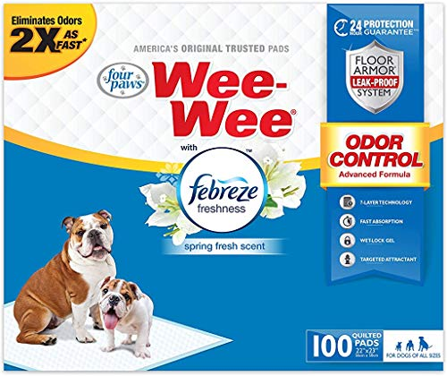 Wee-Wee Puppy Training Pee Pads 100-Count 22