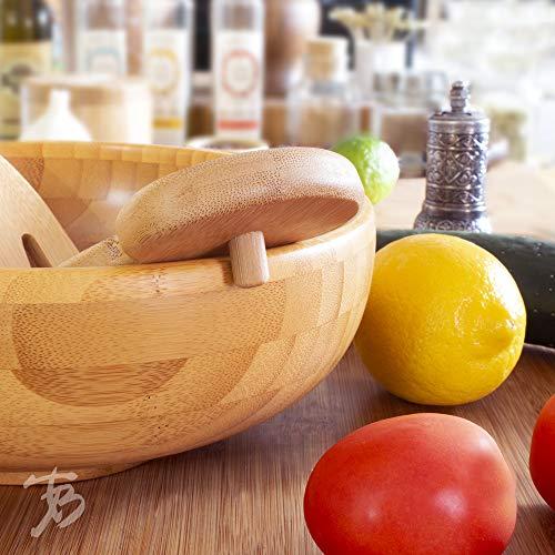 Product Image 3: Totally Bamboo Salad Hands, Bamboo Salad Server Set