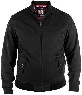 Mens Duke D555 King Size Zip Up Coat Windsor Big & Tall MK1 Harrington Jacket