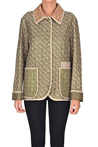 Luxury Fashion | Burberry Dames MCGLCSG0000A7010E Beige Zijde Jassen | Seizoen Outlet