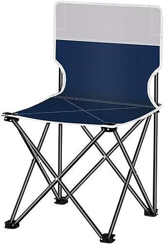 Zhong chuang Chaise Pliante de Directeur de Sports de Voyage Portable et Robuste avec Poche et Table (Bleue) (Couleur   C, Taille   L)