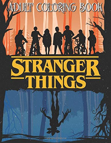 Stranger Things Coloring Book: Giant Coloring Book Featuring