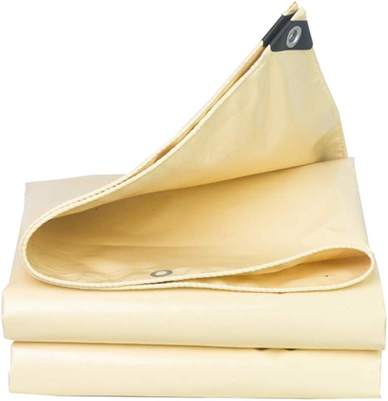 ZZHF pengbu Plane, Beige Knife Scraping Cloth Rainproof Sunscreen Plus Plus Plus Dicke Wasserdichte Sonnenschutzplane (größe   2m2m) B07KJKBZK7  Stabile Qualität cb0f90