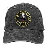 Macross Robotech Logo Vf-1 Valkyrie Vfa-103 Men's Adjustable Baseball Cap Vintage Washed Denim Dad Hat