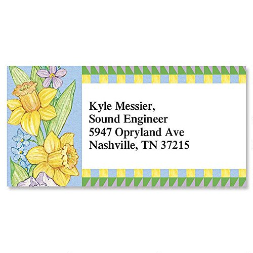 Country Year Round Self-Adhesive, Flat-Sheet Border Address Labels (12 Designs)