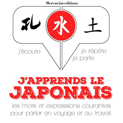 Couverture de J'apprends le japonais