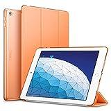 ESR Funda para iPad Air 3ª generación 2019/iPad 2019, Funda Flexible Ligera con Función Automática de Reposo/Actividad, Forro de Microfibra, Funda Trasera Suave para iPad Air 2019 de 10.5'-Naranja