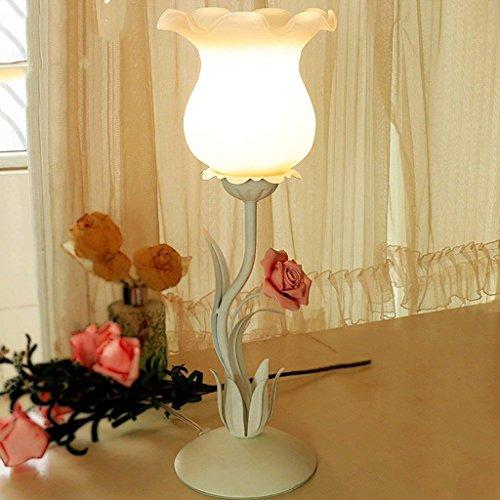 DSJ Tuintafellamp, ijzer, roze, bloem, kinderkamer, prinsessenkamer, nachtkastje, lamp, cadeau, tafellamp