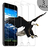 Wsky Protective Skin for iPhone 8Tempered Glass Design for iPhone3D Bubbles and Fingerprint Touch Compatible 9H Hardness Anti Oil, Scratch, Tempered Glass Film Screen Protector for 4.7iPhone 8