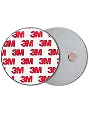 ECENCE Rauchmelder Magnethalter Stück Selbstklebende Magnethalterung für Rauchmelder Ø 70mm schnelle & sichere Montage ohne Bohren und Schrauben für alle Feuermelder und Rauchwarnmelder
