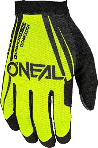 O'Neal AMX Handschuhe Blocker Schwarz Neon Gelb MX MTB DH Motocross Enduro Offroad Quad BMX FR, 1101-0, Größe M