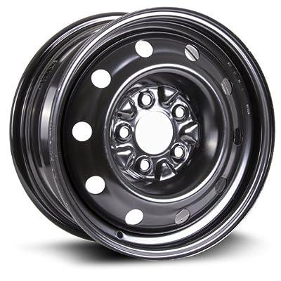 RTX, Steel Rim, New Aftermarket Wheel, 15X6.5, 5X114.3, 71.5, 40, black finish X99126N