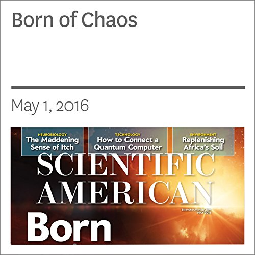 Born of Chaos audiobook cover art