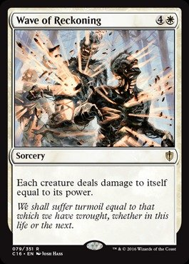 Magic The Gathering - Wave of Reckoning (079/351) - Commander 2016