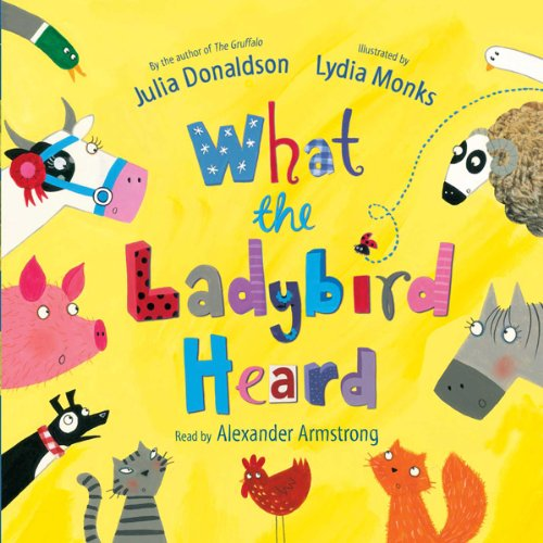 What the Ladybird Heard audiobook cover art