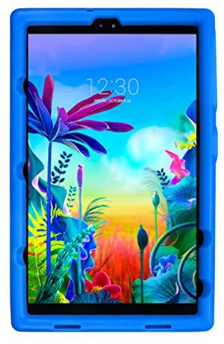 BobjGear Bobj Rugged Tablet Case for LG G Pad 5 10.1 FHD Kid Friendly (Batfish Blue)