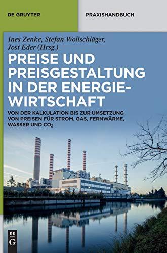 Preise und Preisgestaltung in der Energiewirtschaft: Von der Kalkulation bis zur Umsetzung von Preisen für Strom, Gas, Fernwärme, Wasser und CO₂ (De Gruyter Praxishandbuch)