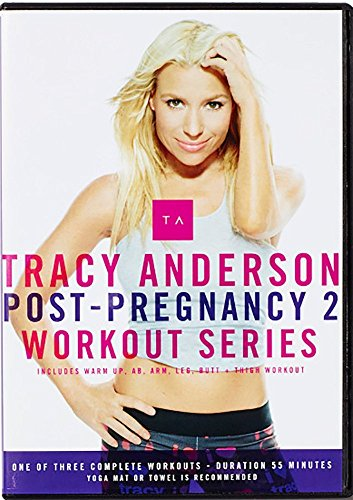 Tracy Anderson Post-Pregnancy 2 Workout DVD - The Tracy Anderson...