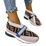 Zapatos Deportivos Para Mujer Moda Azul Diseño Personalidad Inglesa Zapatos Deportivos Verano Al Aire Libre Para Correr Conjuntos Pies Transpirables Boca Baja Hombres Y Mujeres Frescos,Rosado,39