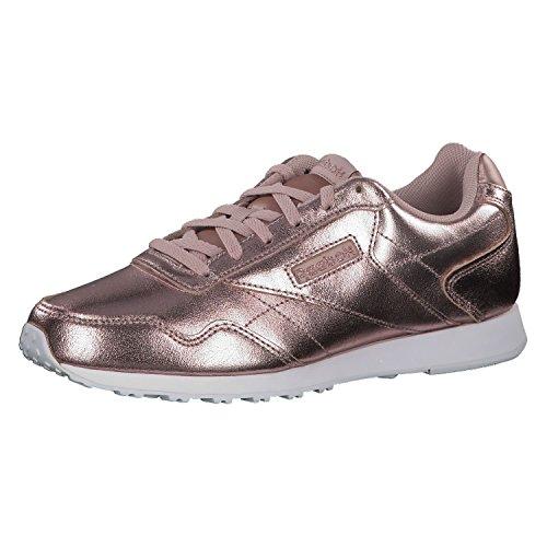 Reebok Royal Glide LX, Zapatillas de Deporte Mujer, Multicolor (Rose Gold/White/Sandy Rose/Shell Pink 000), 38.5 EU