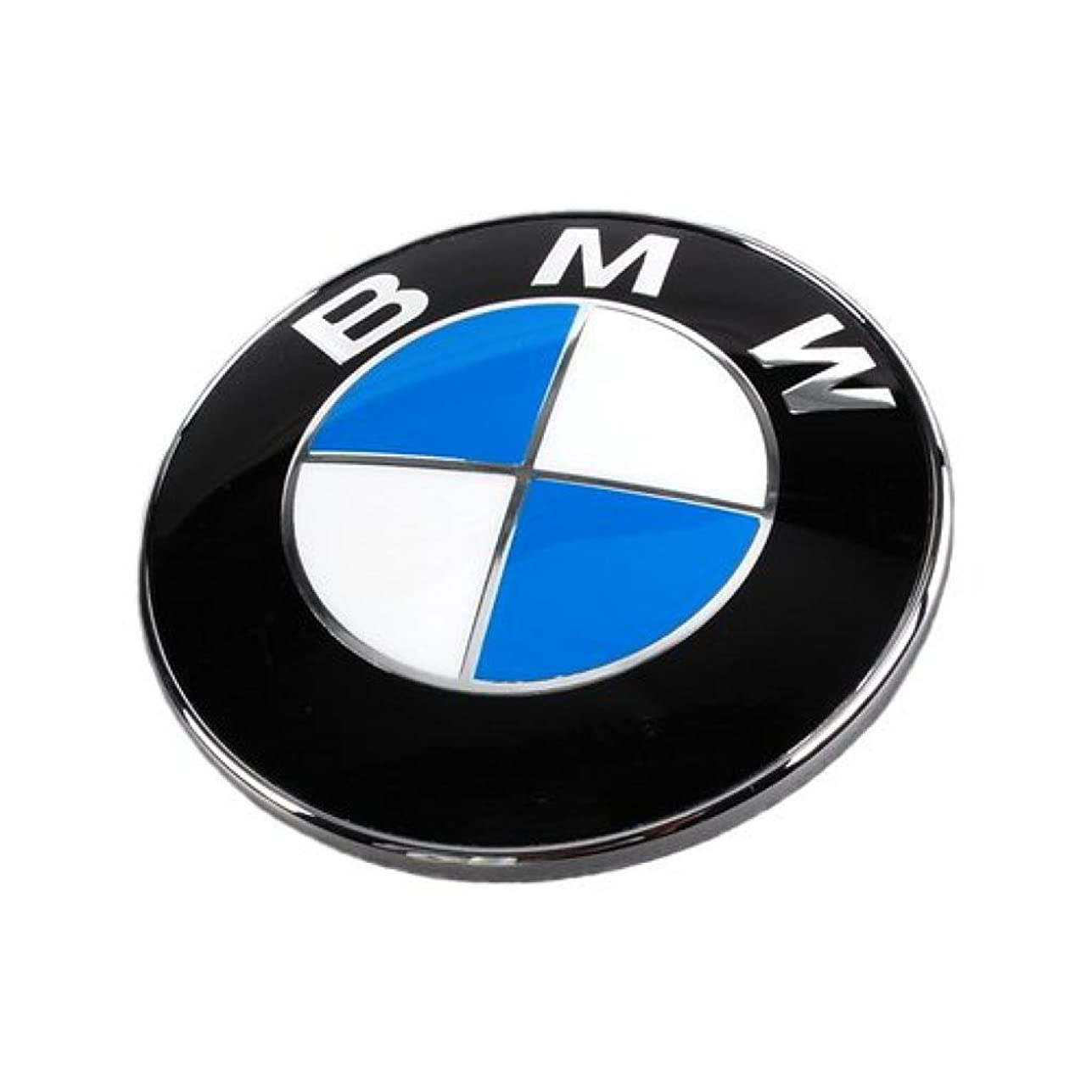 干し草入場統合BMW純正部品(ドイツ直輸入) 82mm エンブレム セット(純正グロメット、交換ツール、説明書付属) 51148132375