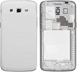 Backer The Brand Replacement Full Body Housing Panel for Samsung Galaxy Grand 2 G7106/G7102 (White)
