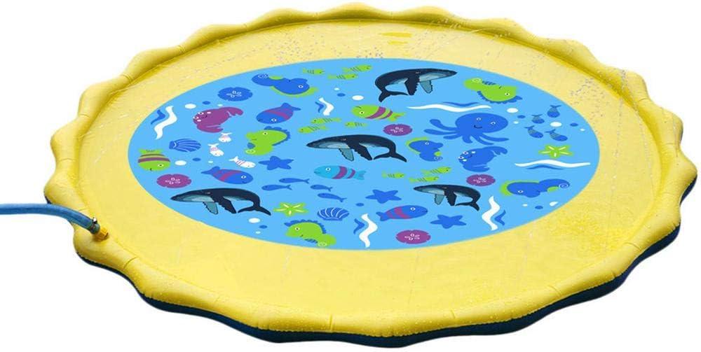 Homejuan Inflatable Splash Over item handling Sprinkler Pad Water Toys Outdoor Mat Max 54% OFF