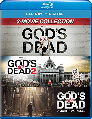 God's Not Dead: 3-Movie Collection [Blu-ray + Digital] $12.99 - $12.99