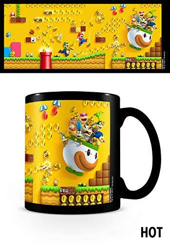 Super Mario - Heat Changing Mug Gold Coin Rush, 320 ML