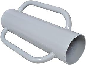 Hekpalen en hekpalen en dwarsbalken hekpalen met handgrepen staal