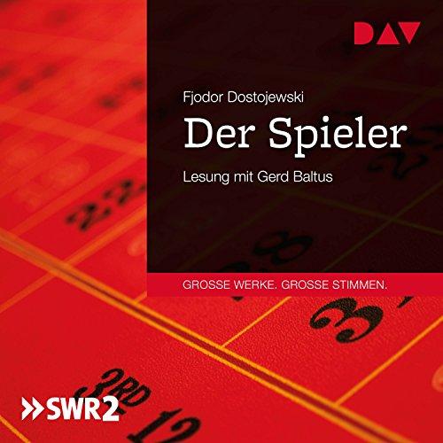 Der Spieler audiobook cover art