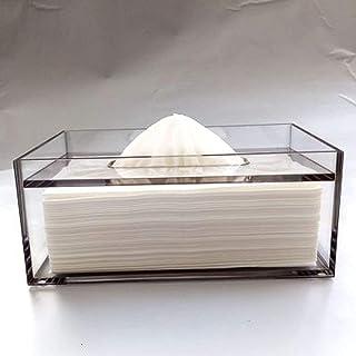 Łazienka akrylowa akrylowa skrzynka tkanki, uchwyt do tkanki, dozownik ręczników do ręczników do ręcznika do ręcznika do s...