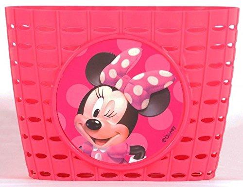 Volare Disney Minnie Mouse Maus Bow Kinder Fahrradtasche Lenkertasche Fahrrad Korb PINK
