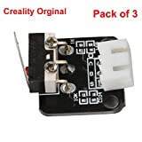 Creality 3D Printer Part Limit Switch with Separate Package CNC for RAMPS 1.4 RepRap 3D Printer CR-10 10S,S4,S5,Ender 3/Ender 3 Pro (Pack of 3)