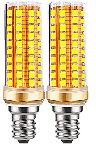 Bombillas Led E14 Luz Fria 20W - Bombilla E14 Led Frío Maíz Incandescente equivalente a 200W, 2700K Cálido 2000LM, Tornillo Edison bombillas,No regulable - 2 unidad