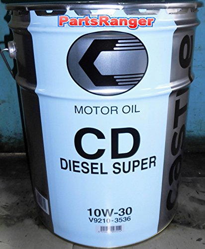タクティー キャッスル ディーゼルスーパー ディーゼルエンジンオイル CD 10W-30 V9210-3536 20L×1缶