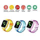 Dokfin Kids Smartwatch Phone avec GPS, Waterproof Smart Watch Phone Q80 Anti-Lost...