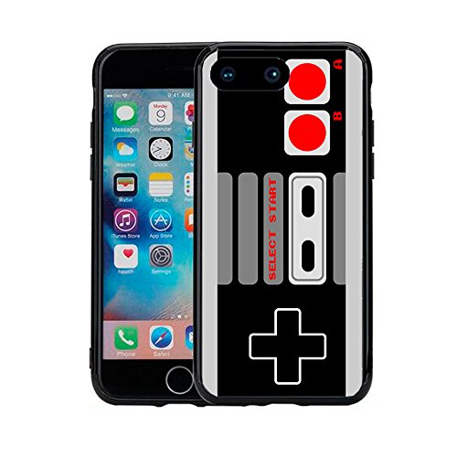 Old School Gaming Controller for iPhone 7 Plus (2016) & iPhone 8 Plus (2017) (5.5) Case Cover by Atomic Market