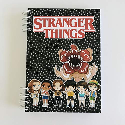 Libreta serie Stranger Things tamaño A5