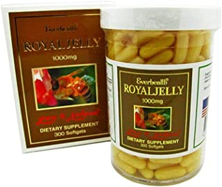 Everhealth Royal Jelly 1000mg 300 Capsules Dietary Supplement