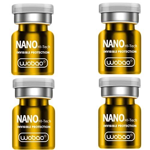 GOW 4 x Nano Liquid für Handy, Smartphone, Tablet und Co. - gegen Finger & Fettspuren - Anti Fingerabdruck (2)