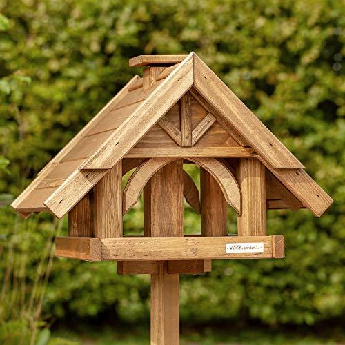 VOSS.garden Vogelhaus Finkenheim Holz Futterhaus Vogelhäuschen Vogelvilla Garten