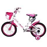Actionbikes Kinderfahrrad Daisy - 16 Zoll – V-Break Bremse vorne - Stützräder - Luftbereifung - Ab 4-7 Jahren - Jungen & Mädchen – Kinder Fahrrad – Laufrad - BMX – Kinderrad (16`Zoll) - 3