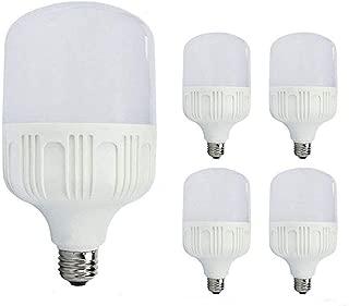 CTKcom 18 Watt Commercial Retrofit LED Light Bulb for Garage WorkShops Construction Sites 1800 Lumens E26/E27 Base Daylight White 5000K Yard Light Bulb,AC100V-250V(4 Pack)