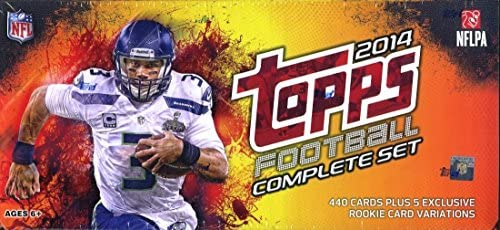 2014 Topps NFL Football EXCLUSIVE Complete Retail Factory Set with 445 Cards Including 5 Special product image