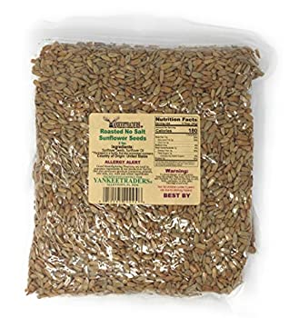 Yankee Traders Brand Sunflower Seeds No Salt and Roasted 2 Pound