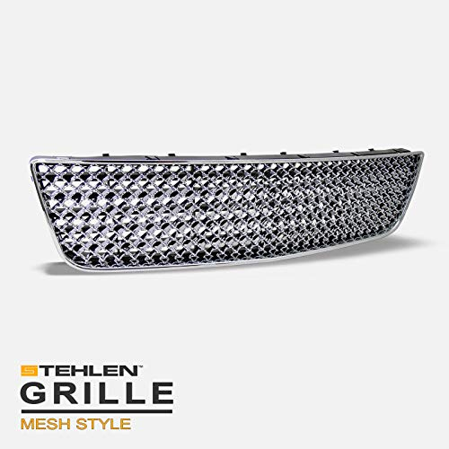 Stehlen 642167823711 Mesh Front Lower Bumper Grille - Chrome For 2006-2013 Chevy Impala / 2014-2016 Limited / 2006-2007 Monte Carlo