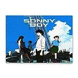 Sonny Boy ジグソーパズル500ピース箱入りコラージュ木製フィギュア面白い減圧おもちゃジグソーパズルゲーム親子子大人の誕生日プレゼント52*38cm