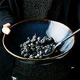 xxw Tazón de cerámica para Ensalada de Frutas Tazón de Ramen Grande Tazón de Sopa Tazón Grande Fideos instantáneos Tazón Dou Sai Tazón de Verduras tomado Hogar